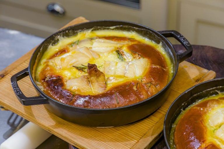 Recipe – Smoked Haddock & Cheese Brioche Tart